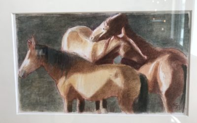 The Hidden Language of Horses:  Interpretations by 5 Contemporary Wyoming Artists