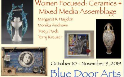 Women Focused: Ceramics + Mixed Media Assemblage